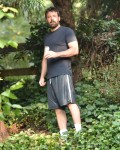 Ben Affleck Looks Exhausted As He Takes Morning Stroll Outside The Family's Rented Atlanta Home
