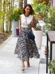 Jessica Alba Heads To Her Honest Company Office