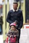 David Beckham Takes Harper To Breakfast