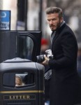 Exclusive... Binned It Like Beckham! David Beckham Seen Out And About In Notting Hill