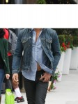 Lenny Kravitz Out And About In Beverly Hills