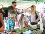 Tori Spelling & Family Stop By The Farmers Market In Studio City