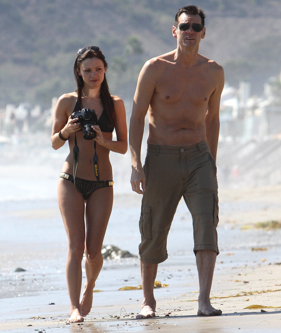 Jim Carrey Girlfriend 2014 | www.galleryhip.com - The Hippest Pics