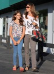 Cindy Crawford and Her Daughter Out in LA