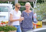 Kelly Rutherford & Caroline Lagerfeld Spend Time Together Ahead Of Custody Hearing