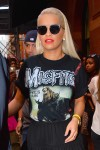 Rita Ora wears a 'Misfits' t-shirt as she is seen out and about in NYC
