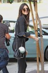 Kendall Jenner Out For Lunch With Friends In West Hollywood