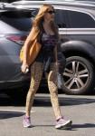 Exclusive... Sofia Vergara Leaving A Spin Class