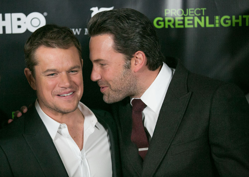 Ben Affleck And Matt Damon Announce Winner Of HBO's 'Project Greenlight' Season 4