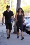 Matt Damon leaves Rise Movement Gym