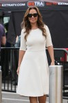 Leah Remini appears on 'Extra'