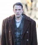 Exclusive... Ben Affleck On Set With A Large Cut And Bloody Hands