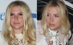 Kesha departs on a flight from Los Angeles International Airport