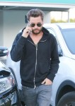 Scott Disick Leaves A Meeting With A Friend In LA