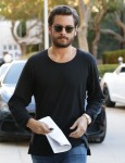 Scott Disick Stops By Barneys New York