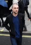 Daniel Radcliffe leaves Kiss FM Studios