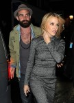 Exclusive... Kylie Minogue And Her New Boyfriend Seen Out In London