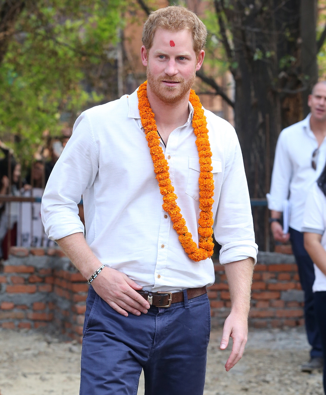 Celebrity News 24/7: Prince Harry's Nepal Trip Involved