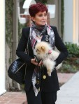 Exclusive... Sharon Osbourne Out Shopping In West Hollywood