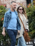 Exclusive... Drew Barrymore Lunches In Hollywood With A Friend