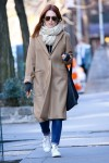 Julianne Moore Out And About In NYC