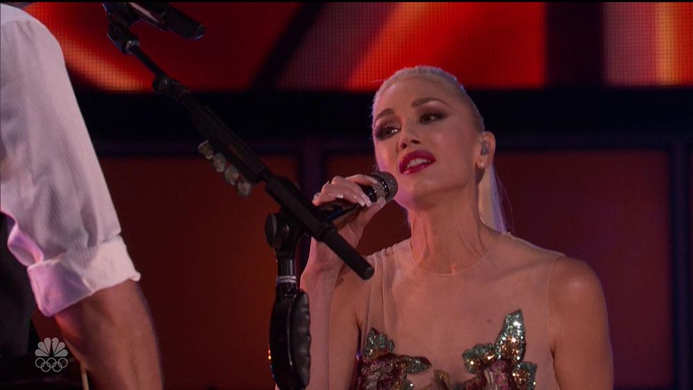 Blake Shelton and Gwen Stefani's performance on Season 10 'The Voice' on NBC