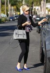 Yolanda Foster Out And About In Beverly Hills