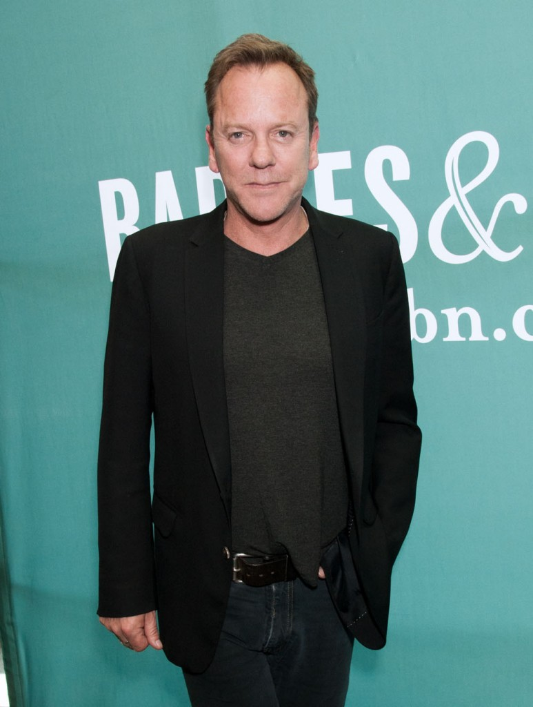 Kiefer Sutherland  Barnes and Noble
