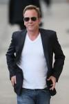 Kiefer Sutherland seen leaving the ABC studios