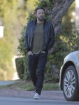 Ben Affleck Out And About In Brentwood