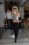 Kim Zolciak arrives at LAX airport
