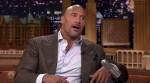 Dwayne Johnson during an appearance on NBC's 'The Tonight Show Starring Jimmy Fallon.'