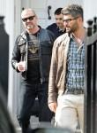 George Michael & Fadi Fawaz Out In London