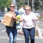 Pregnant Katherine Heigl Out For Lunch With Her Mother