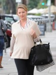 Katherine Heigl And Family Run Have Lunch In Los Angeles