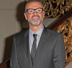 """George Michael Press Conference to Announce His New European Tour """"Symphonica: The Orchestral Tour"""" at The Royal Opera House in London on May 11, 2011"""