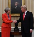 Theresa May USA visit Day Two