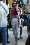 The Kardashian Family Departing On A Flight In Costa Rica