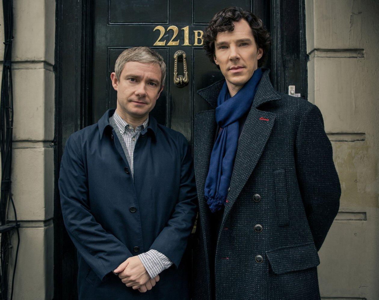 sherlock1  bitchy | Benedict Cumberbatch & Martin Freeman at all times had a 'frosty' relationship sherlock11