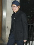 Ed Sheeran Out and About in London