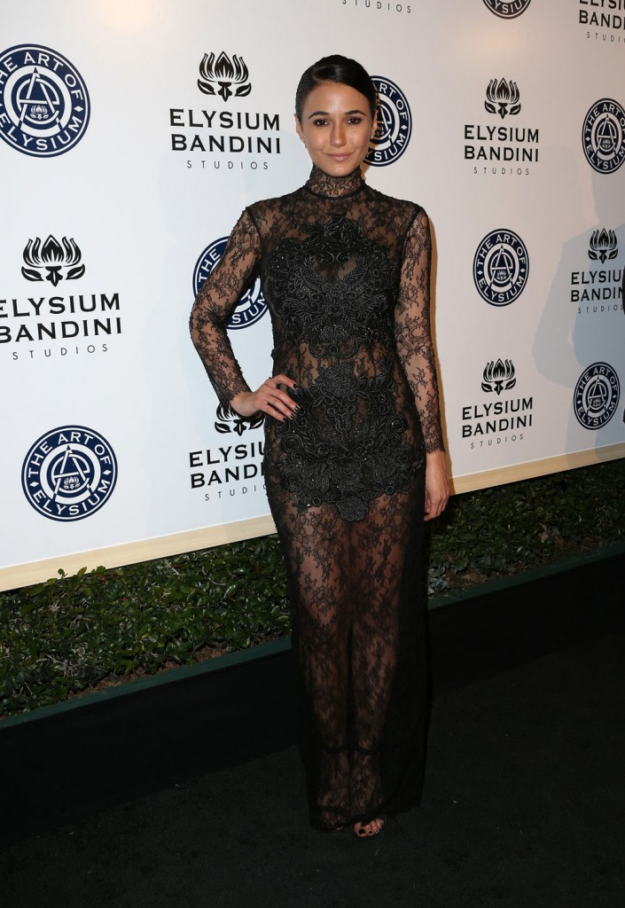 wenn30698526  bitchy | Kristen Bell in Maria Lucia Hohan on the Artwork of Elysium gala: fairly or pepto tin foil? wenn30698526