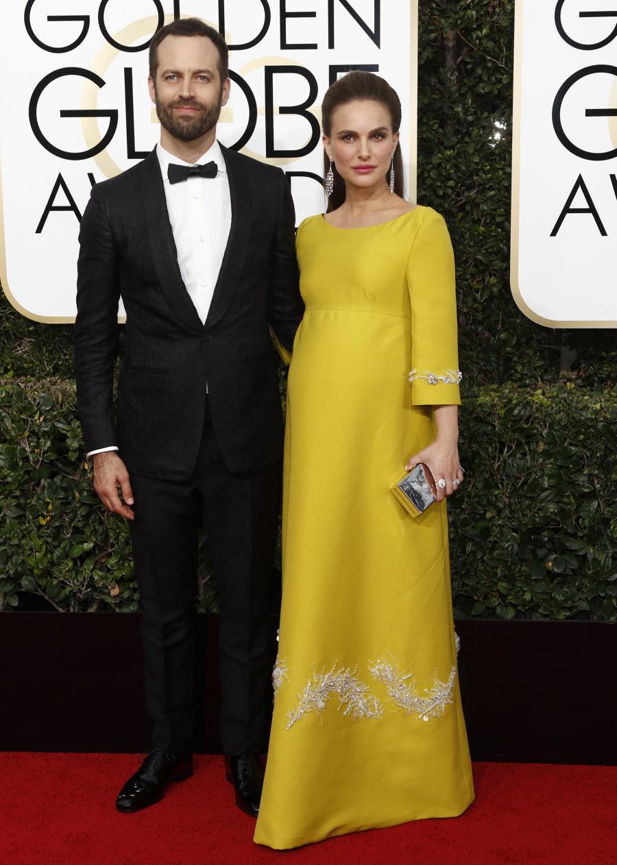 wenn30704381  bitchy | Natalie Portman in chartreuse Prada on the Golden Globes: dated, fug or cute? wenn30704381