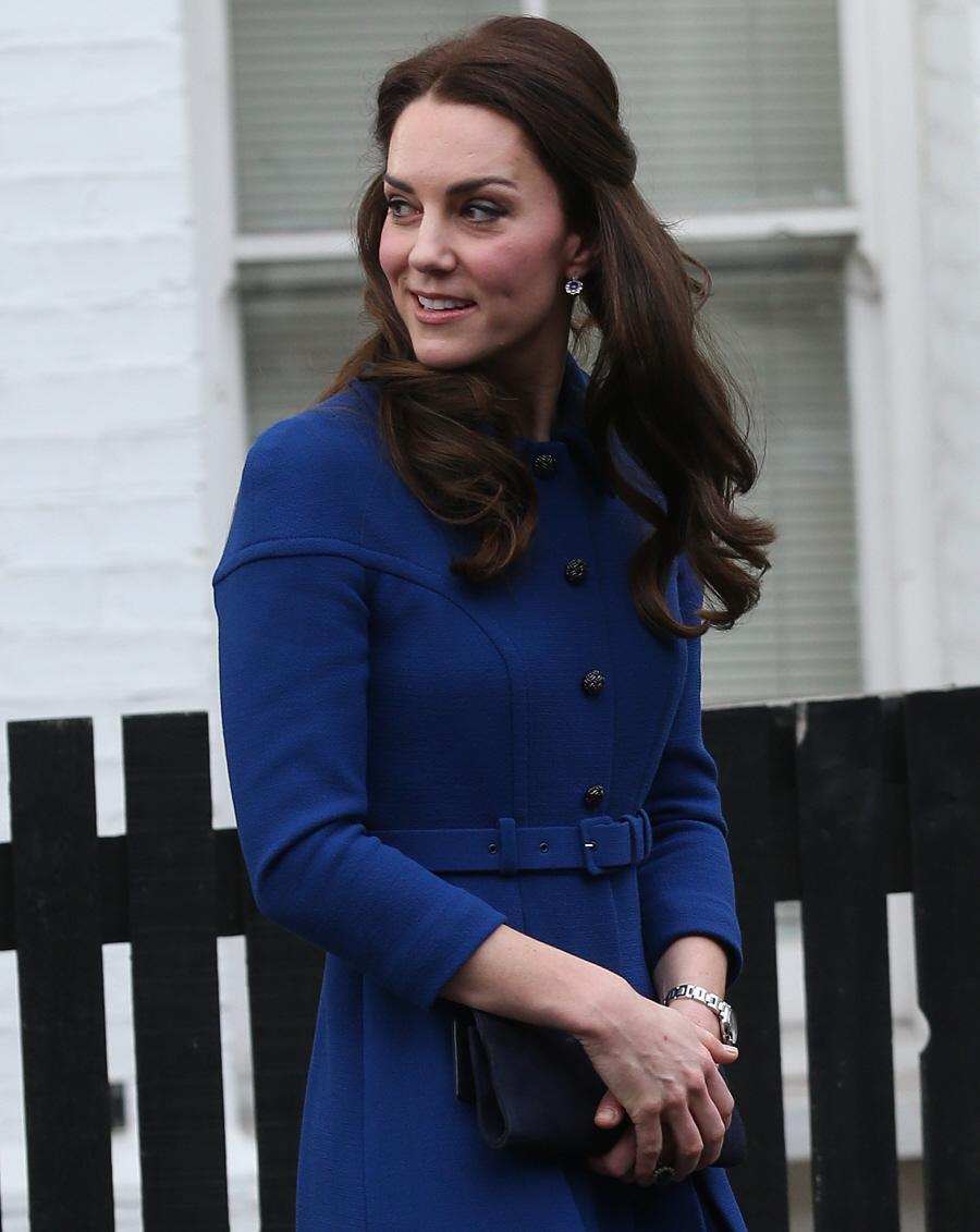 wenn30719516  bitchy | Duchess Kate wears a £1,650 Eponine coatdress in London: beautiful or blah? wenn30719516