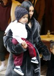 Kim Kardashian Out With Kids And Friends In NYC