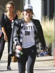 Hilary Duff Leaving A Pilates Class In Studio City