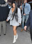 Kim Kardashian & Simon Huck Step Out In NYC