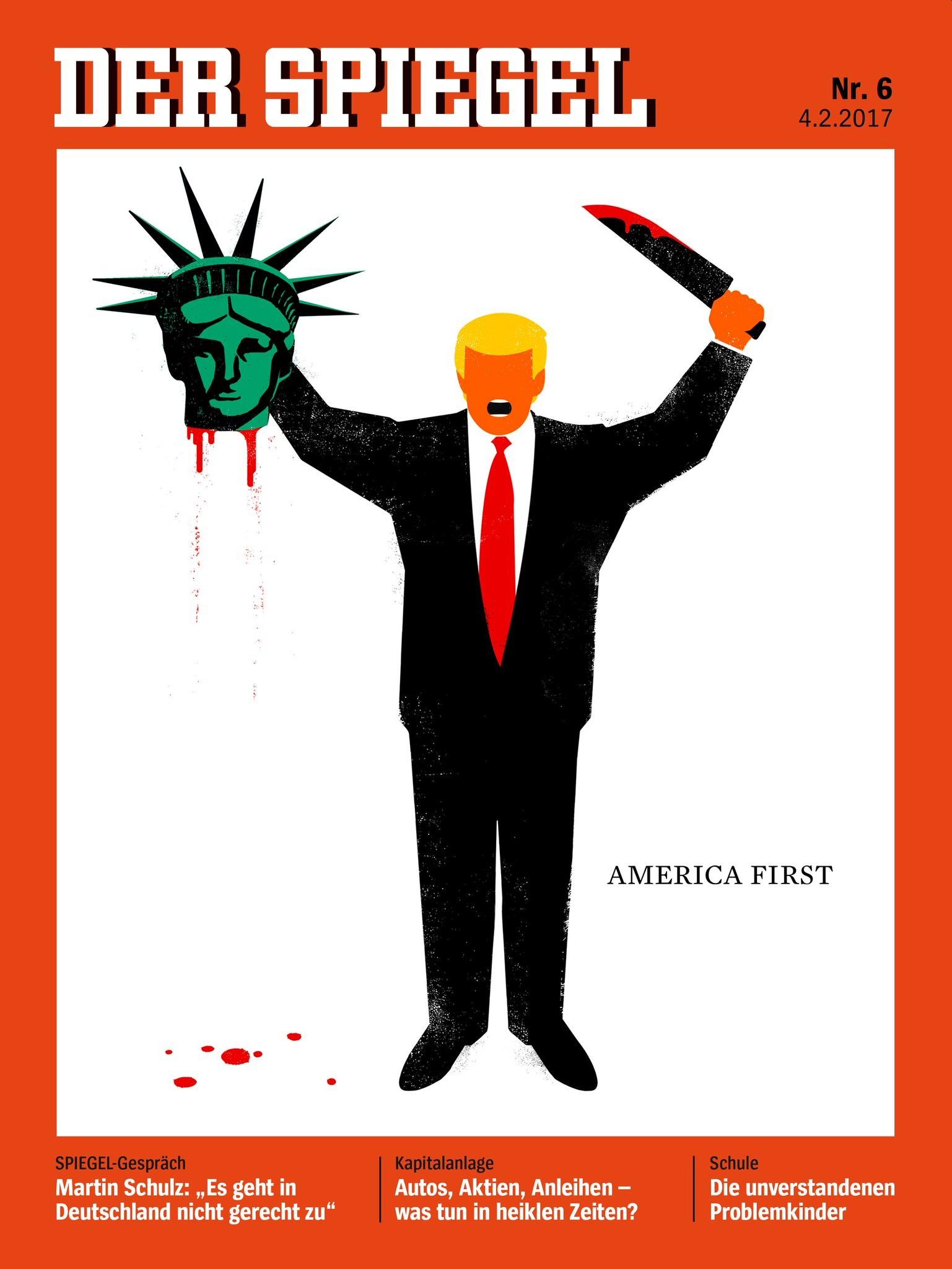 der spiegel  bitchy | Donald Trump tweet-stormed a few decide who quashed the Muslim Ban der spiegel