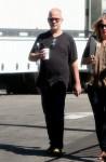 Susan Sarandon and Jessica Lange on set filming 'Feud'