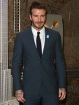 David Beckham at The Empire State Building