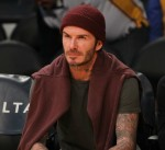 Celebrities at the Los Angles Lakers game